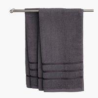 Πετσέτα μπάνιου YSBY σκούρο γκρι