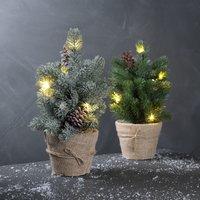 Kerstboom MIDGARD Ø13xH33 LED