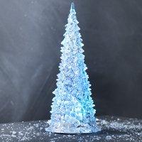 Juletræ IVALDI Ø10xH23cm m/LED