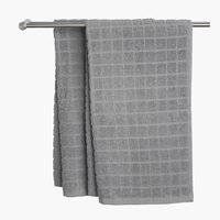 Hand towel KARBY 50x90 light grey