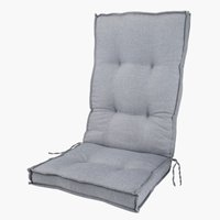 Hagepute REBSENGE reg.bar stol lys grå
