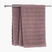 Кърпа TORSBY 65x130 см тъмновиолетова