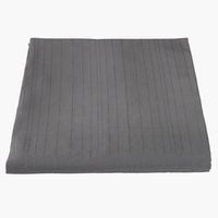 Bed throw ALVIK 160x220 grey
