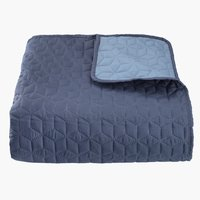 Bed throw ROSENTRE 220x240 blue