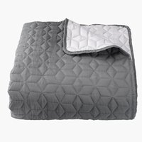 Bed throw ROSENTRE 220x240 grey