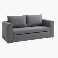 Kauč na razvlačenje SKILLEBEKK sv. siva