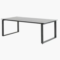 Table KOPERVIK W100xL215 grey