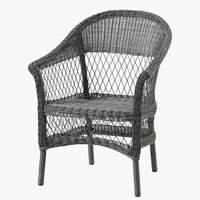 Стифиращ стол MAGLEBJERG сив