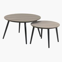 Ensemble de tables VEBBESTRUP nature