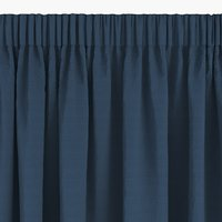 Závěs AUSTRA 1x140x300 samet modrá