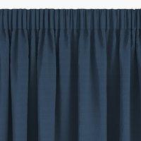 Gardin AUSTRA 1x140x300 fløyel blå