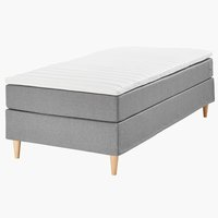 Boxspring 90x200 BASIC C10 siva-23