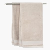 Bath towel NORA sand