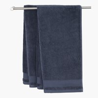 Guest towel NORA dark blue