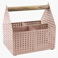 Storage box VICKLEBY W15xL20xH20 rose