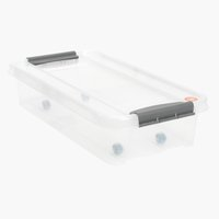 Unterbettbox PROBOX 31L m/Deckel klar