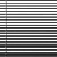 Persienne aluminium 100x160cm grå