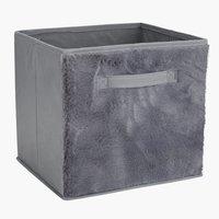 Košara IVAR Š32xD28xV30 cm siva