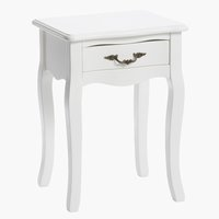 Bedside table STENLILLE off- white