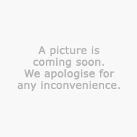 Display cabinet KALUNDBORG white/brown