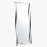 Zrkadlo SKOTTERUP 78x180 strieborná