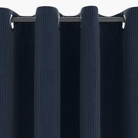Curtain TOTAK 1x140x245 corduroy blue