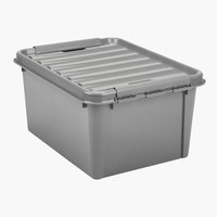 Storage box SMARTSTORE 31 w/lid recycled