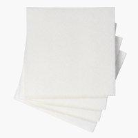 Cleaning cloth INGVI W38xL38cm 4pcs/pk