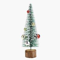 Kerstboom FREKI H21cm m/decoratie