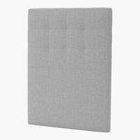 Sänggavel 105x125 H50 STITCHED grå-27