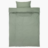 Duvet cover ELLEN SGL green
