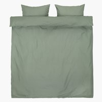 Duvet cover ELLEN KNG green