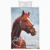 Bedding set HORSE SGL KRONBORG