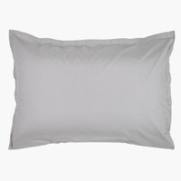 Pillowcase percale 50x70/75 l. grey KR