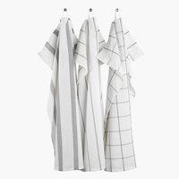 Ręcznik kuch. FLEKKMURE 50x70 3szt mix