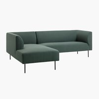 Bank KARE chaise longue d.groen links