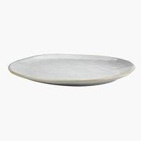 Farfurie TONE 30x25x3 cm gresie gri