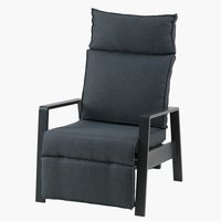 Recliner chair VONGE black