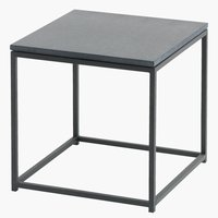 Side table OLDHUSE W45xL45xH45 black