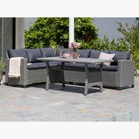 Lounge set ULLEHUSE 6 pers. grey