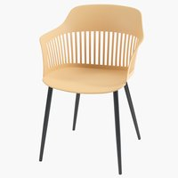 Chair RAVNEBAKKE yellow