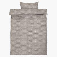 Posteljnina EVA 140x200 cm siva
