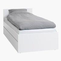 Rama łóżka LIMFJORDEN 90x200 biały