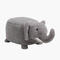 Lasten jakkara ULBJERG elefantti