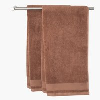 Guest towel NORA 40x60 light brown