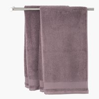 Bath towel NORA purple