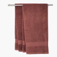 Μεγ.πετσέτα μπάνιου KARLSTAD 100x150 δαμ