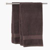 Πετσέτα μπάνιου KARLSTAD καφέ