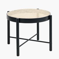 End table BJERGHUSE D56 black/natural