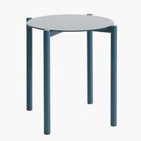 Sohvapöytä ULSTEINVIK Ø46 sininen